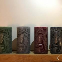 Candles ANAURU - Set of Four